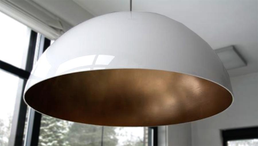 Hanglampen Voorbeeld 9 Gespoten Koepellampen In Alle Kleuren
