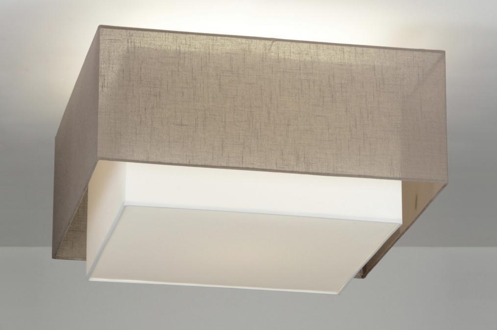 Plafondlampen Voor Slaapkamer : Hanglampen vierkante plafondlampen cm met dubbele kap
